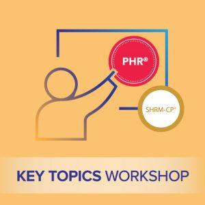 phr key topics workshop