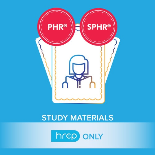 HRCP's PHR SPHR study materials